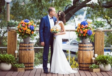 Фотография Идеи для выездной свадебной церемонии
