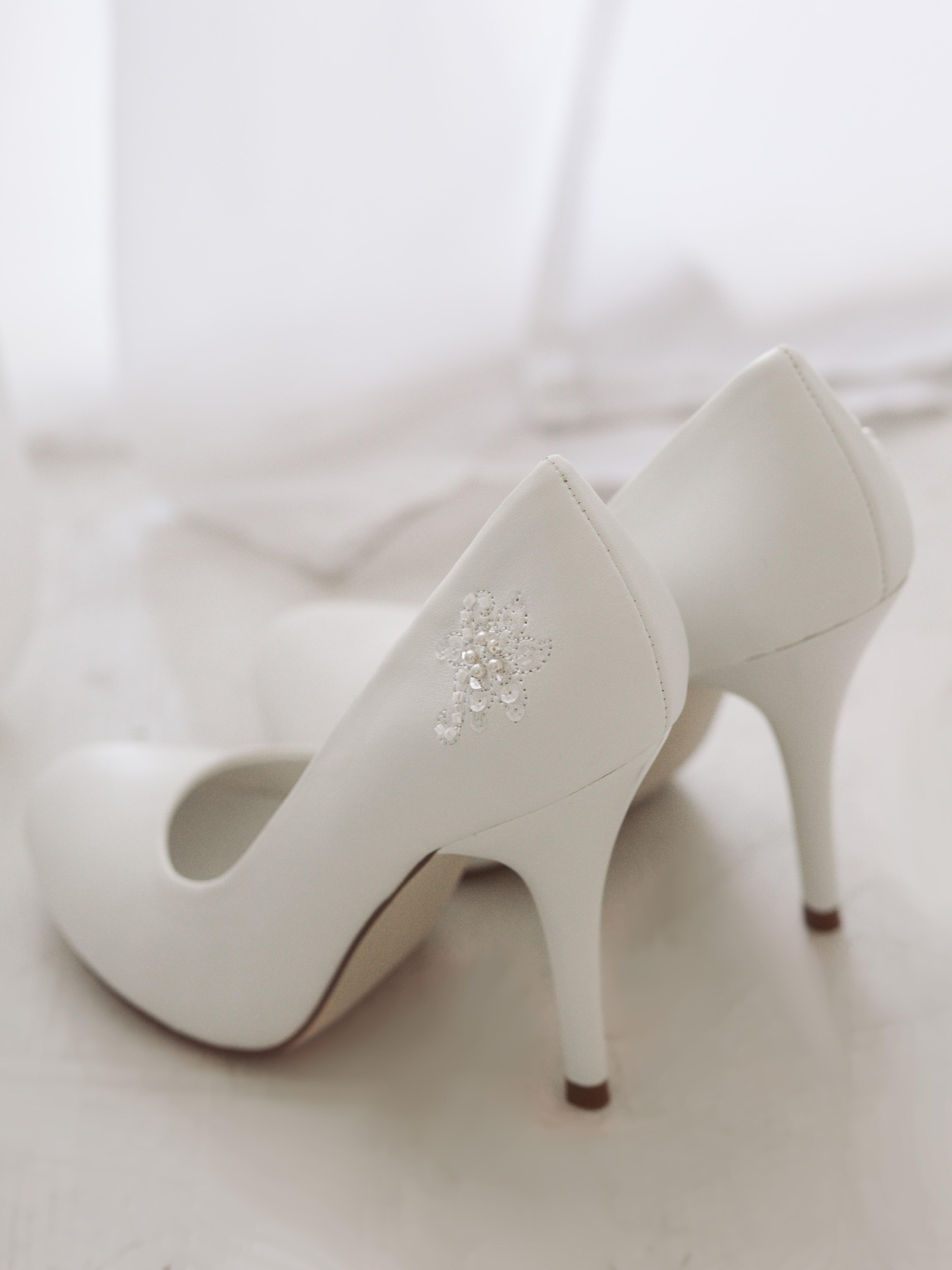 Туфли свад.гладкие бел (1)