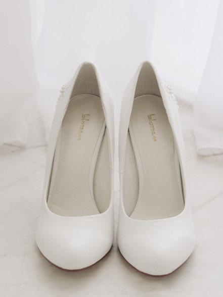 Туфли свад.гладкие бел (2)