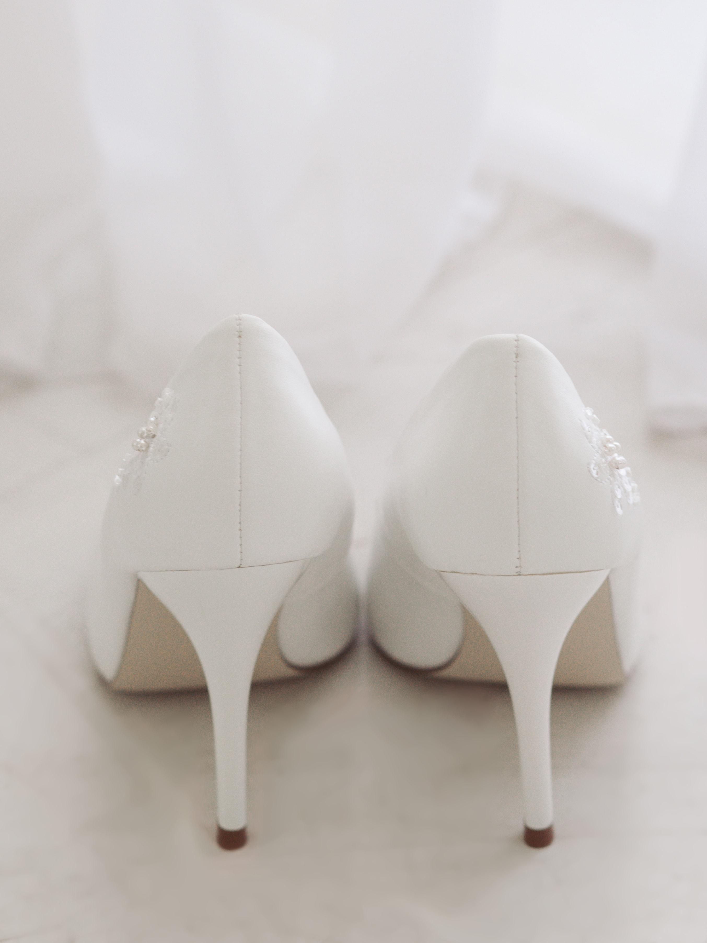 Туфли свад.гладкие бел (3)