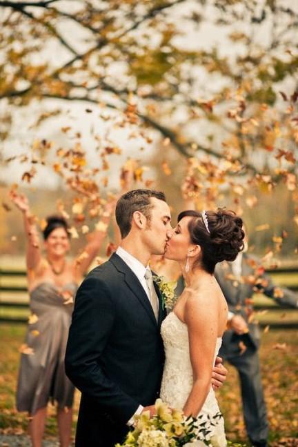 Фотография Секреты идеальной осенней свадьбы