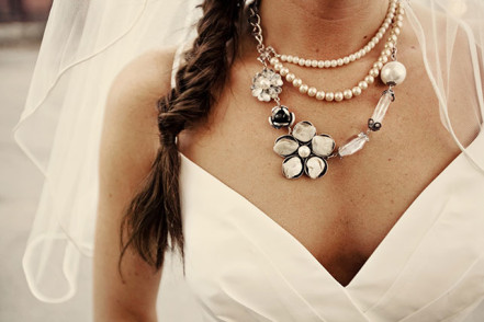 Фотография Внимание к деталям: как выбрать свадебные украшения на шею?
