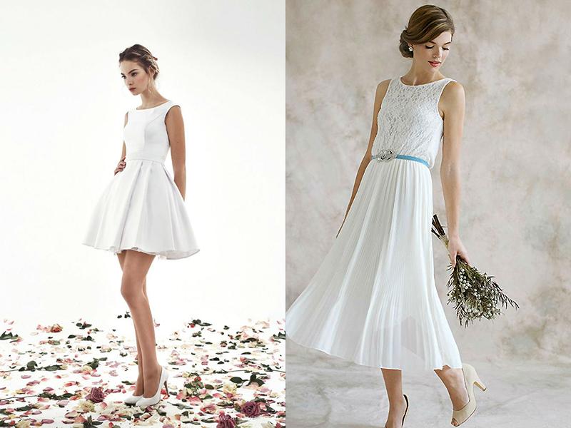 Свадебные платье для скромной свадьбы