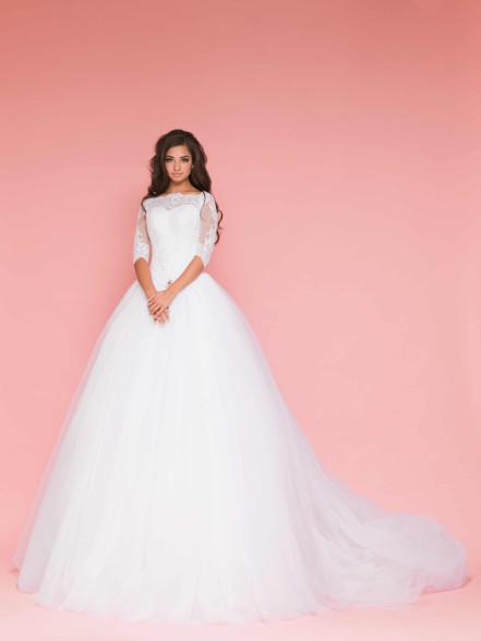 Фотография Пышное свадебное платье: выбираем идеальное