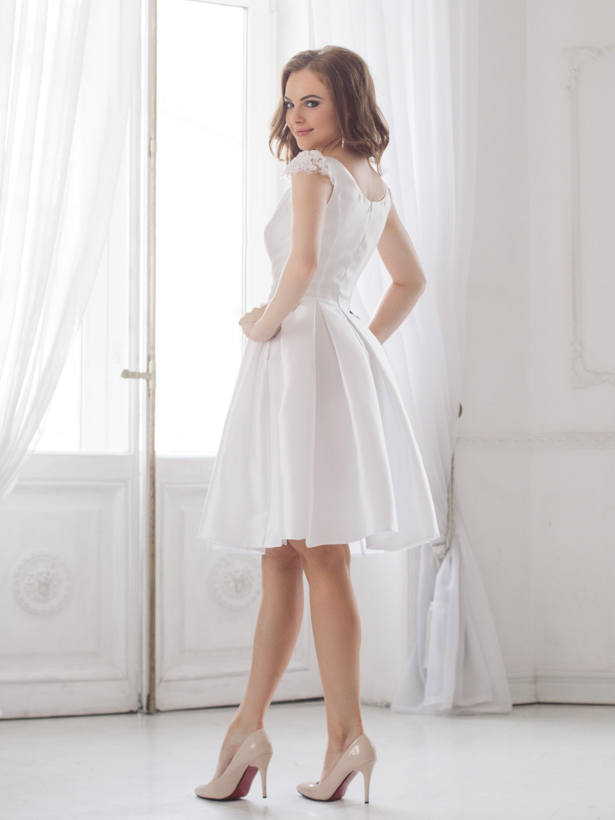 Купить Короткое Свадебное Платье Спб