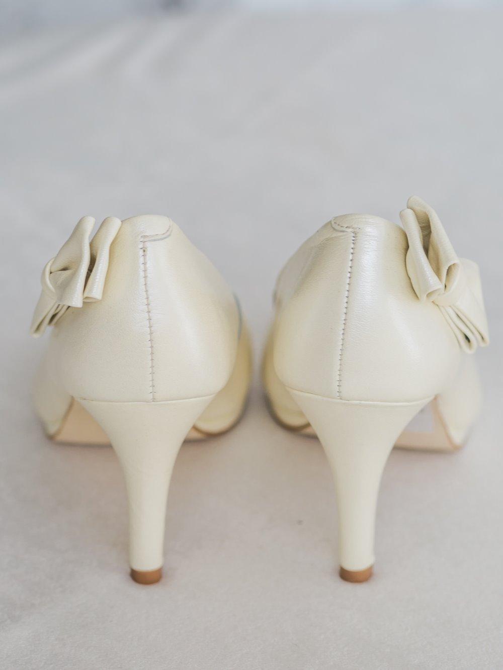 Туфли бантик на пятке 2