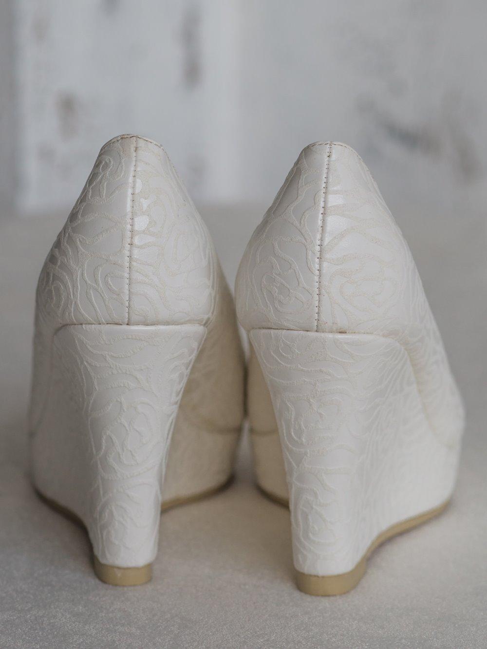 Туфли паутинка платформа 2