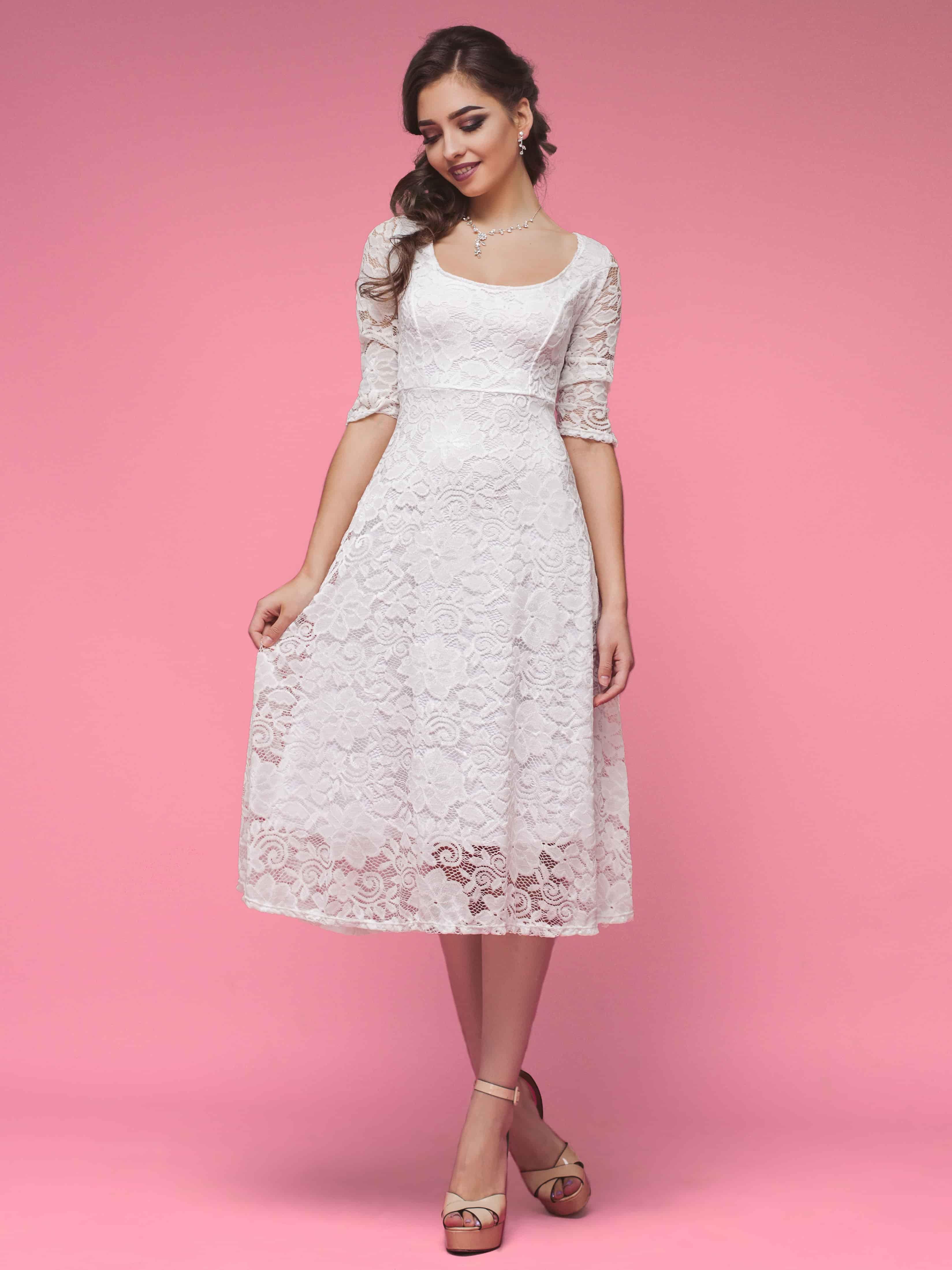 2f87423be84 Короткие свадебные платья  почему стоит выбрать