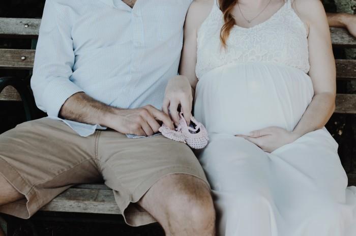 Платье для беременной невесты