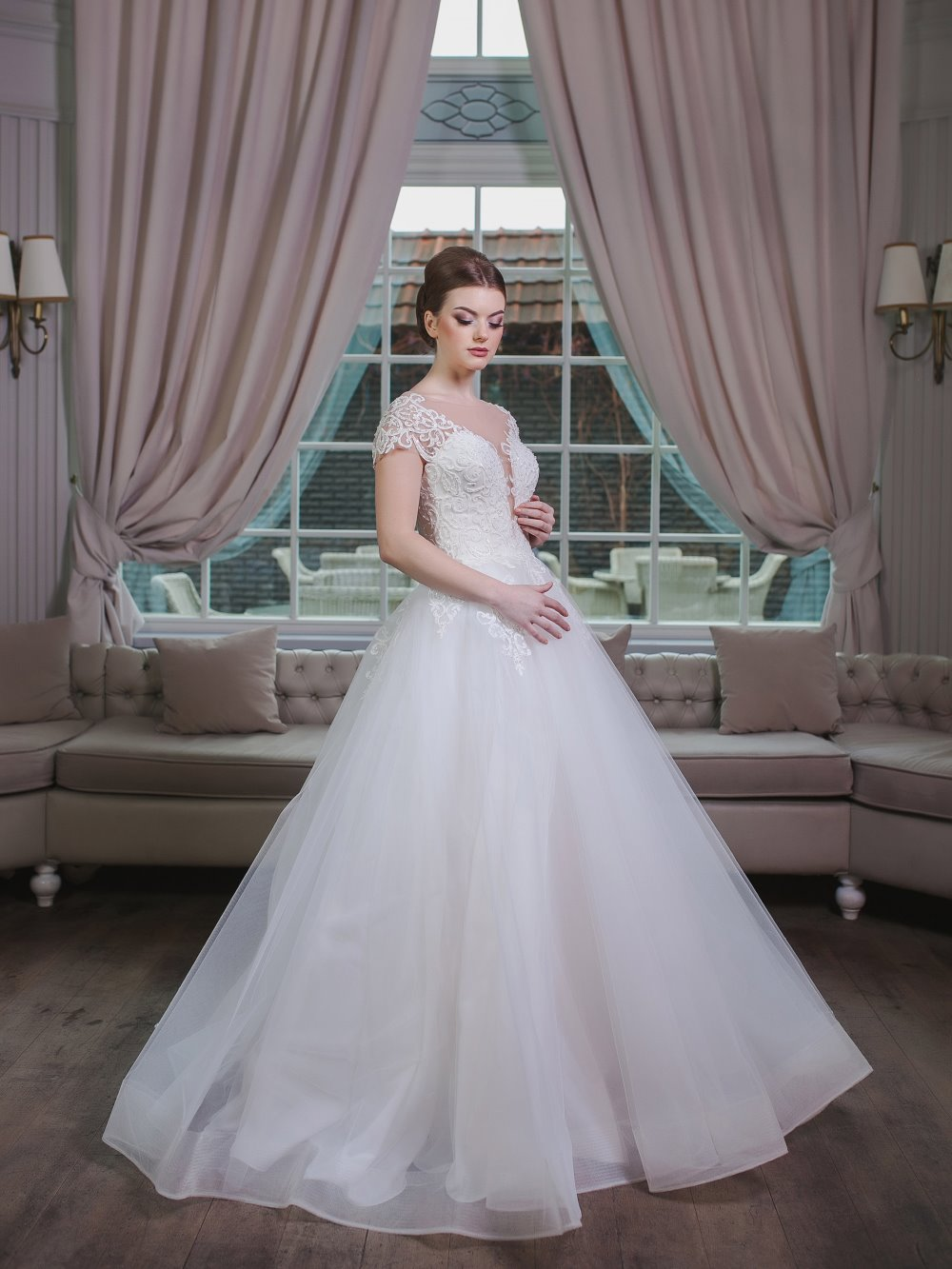 Свадебное платье Луссия 1