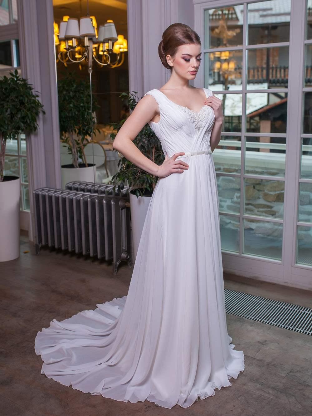 6b755a27d76ef8f Свадебное платье Полисия — купить недорогое платье невесты в салоне ...
