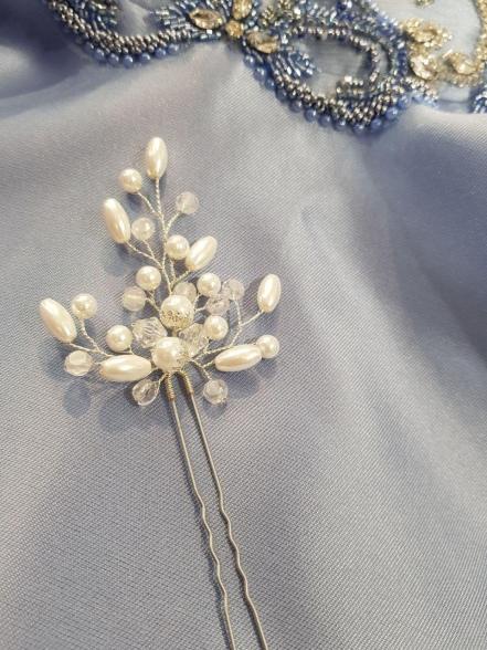 Шпилька La Fleur жемчуг