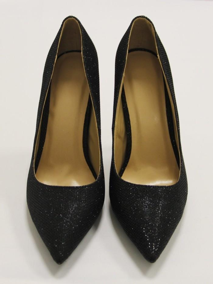 Туфли черные лодочки