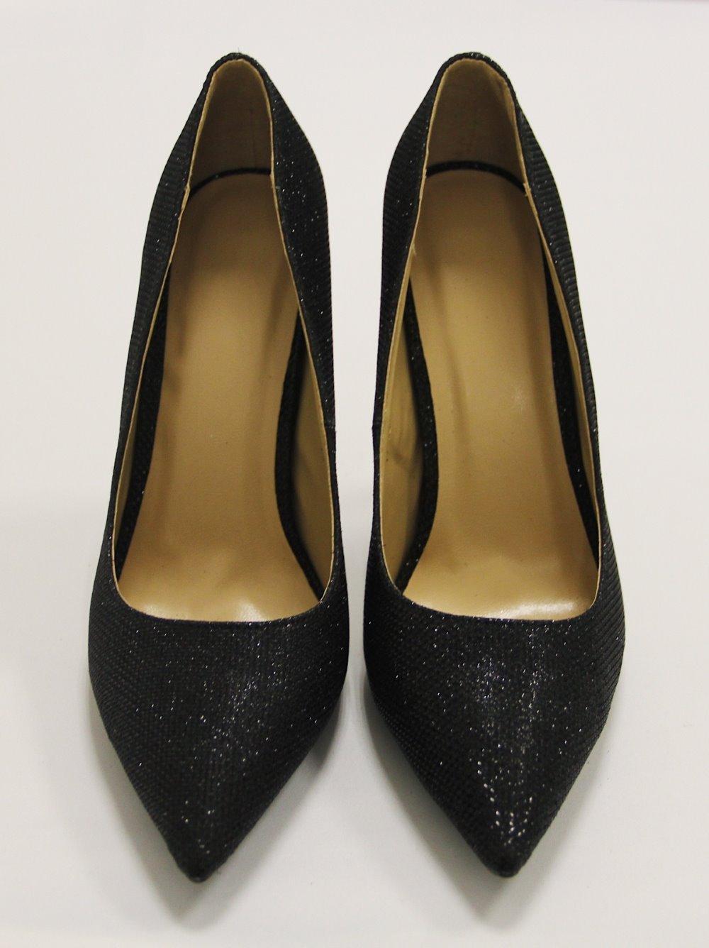 Туфли черные лодочки 1