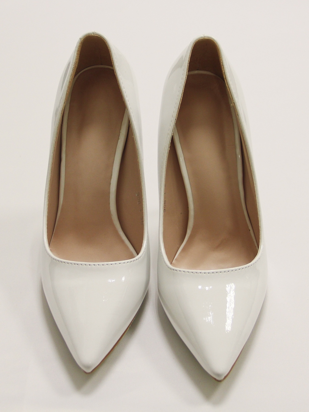 Туфли лодочки белые 2