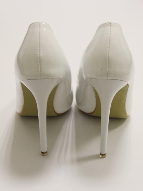 Туфли лодочки белые 3