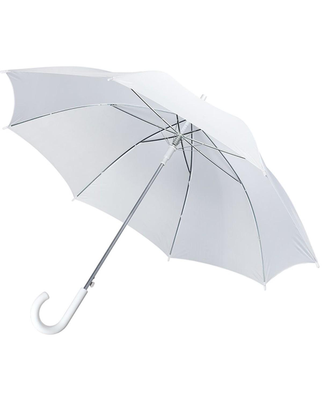 Зонт белый трость 1