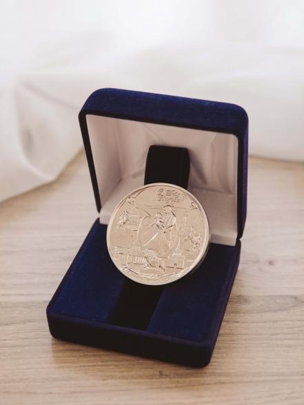 Медаль для молодоженов