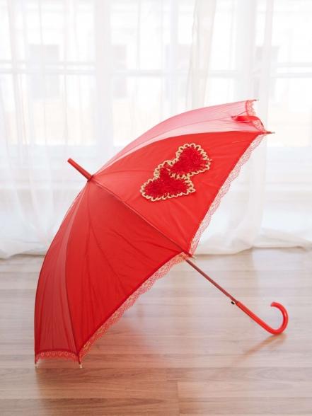 Зонт 2 сердца
