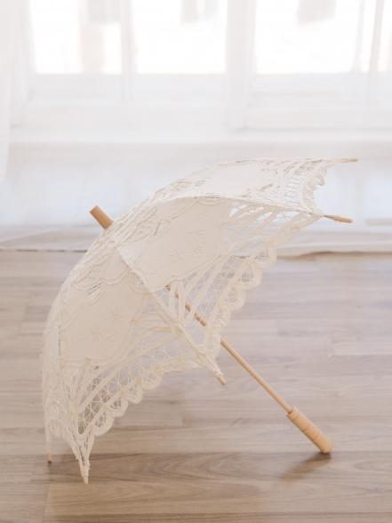 Зонт ажурный