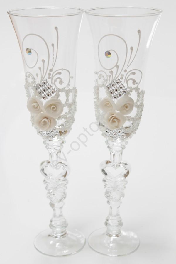 Фотография Набор бокалов для шампанского