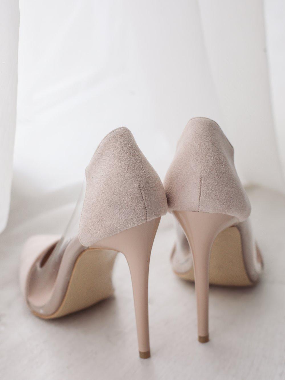 Туфли бежевые 2