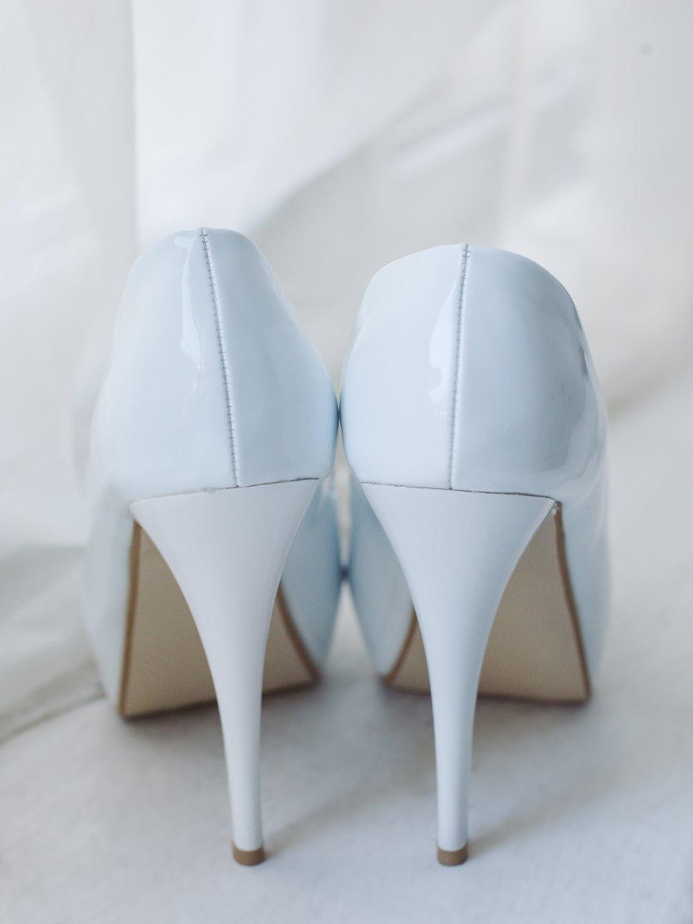 Туфли гладкие открытый мыс 2