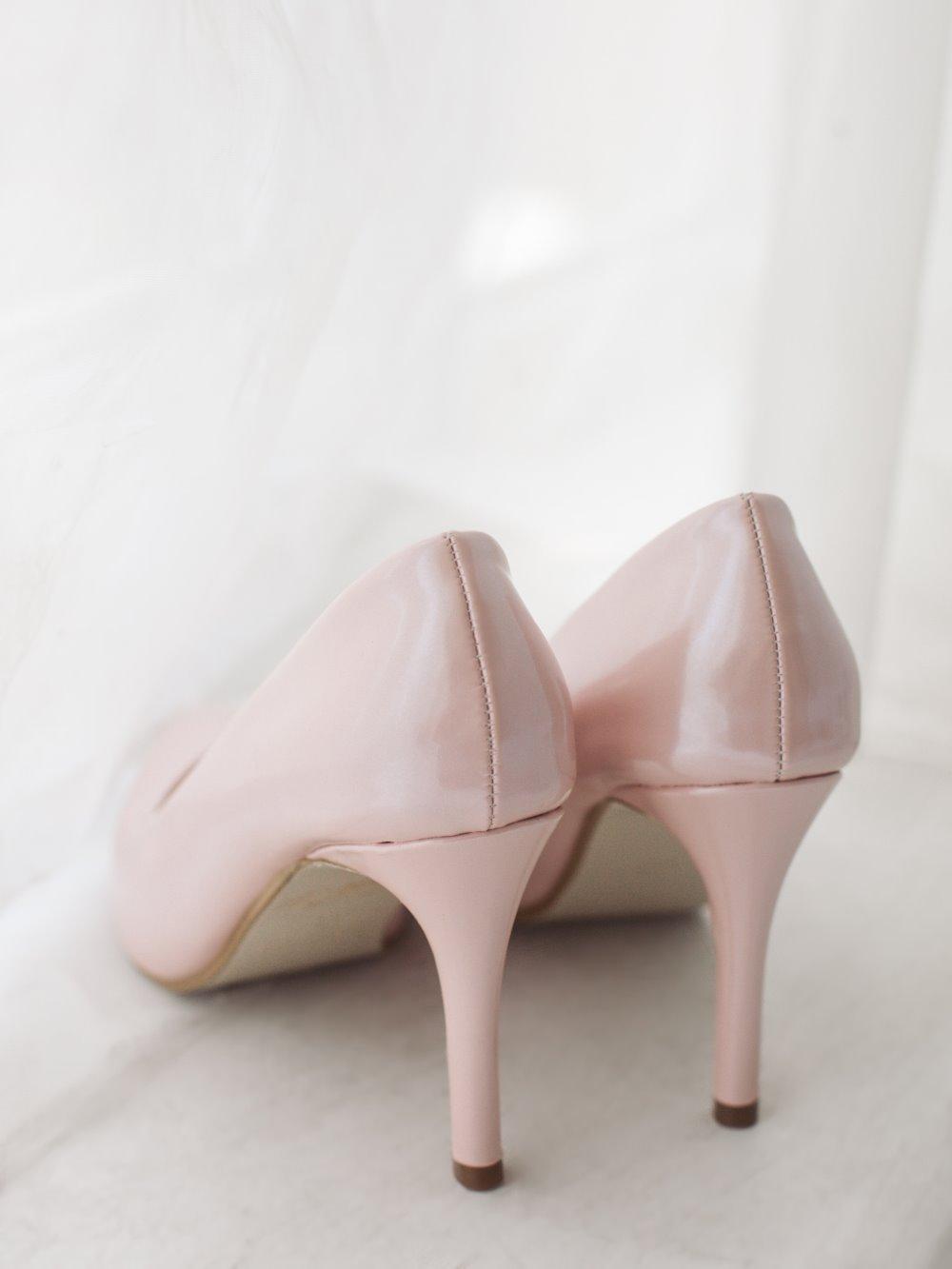 Туфли гладкие розовые 2