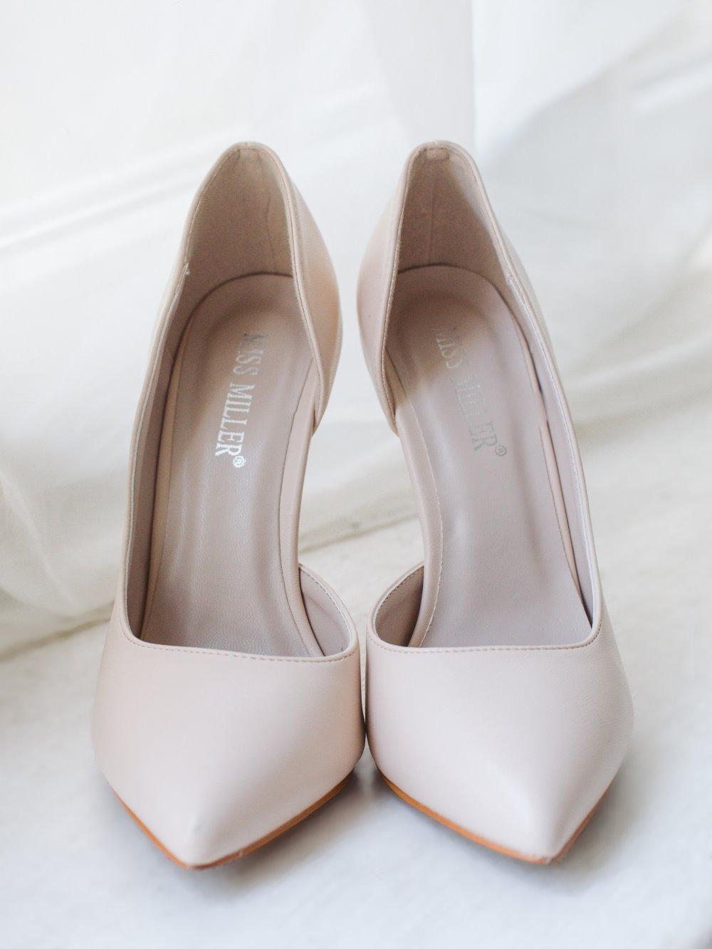 Туфли лодочки бежевые 1