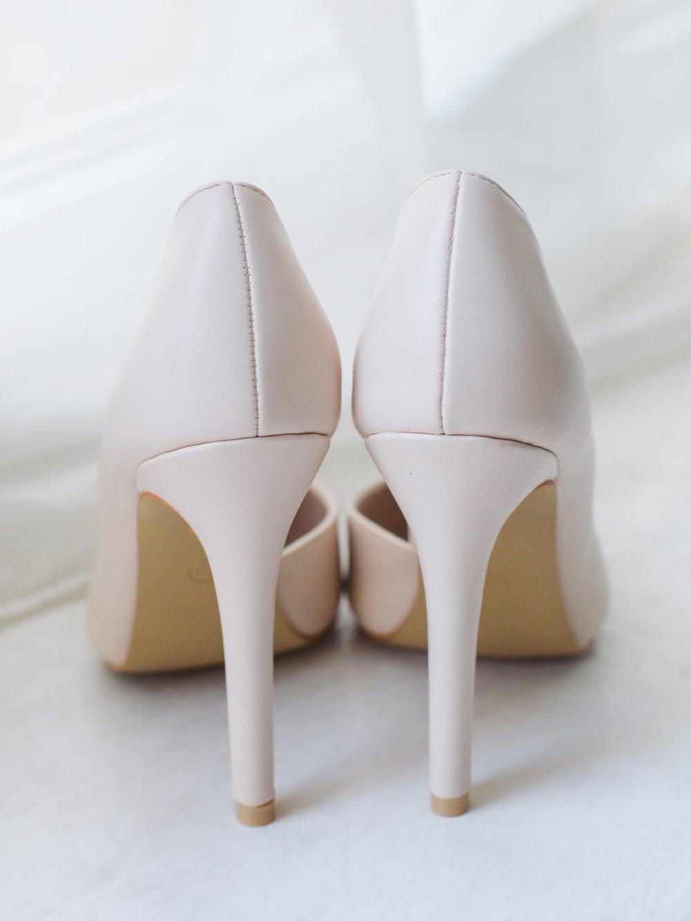 Туфли лодочки бежевые 2