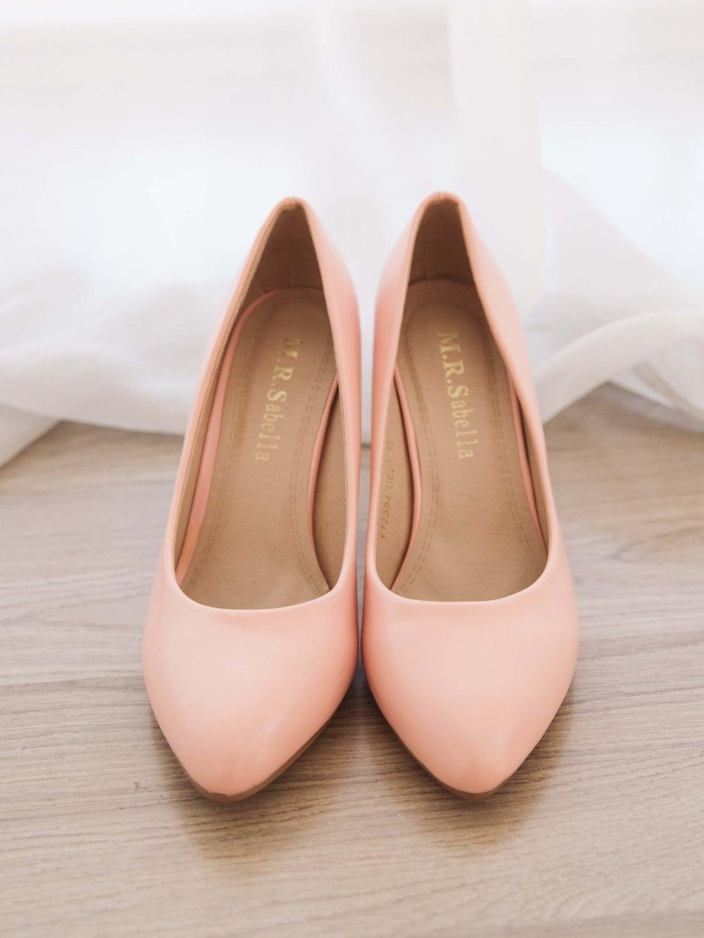 Туфли розовые 1