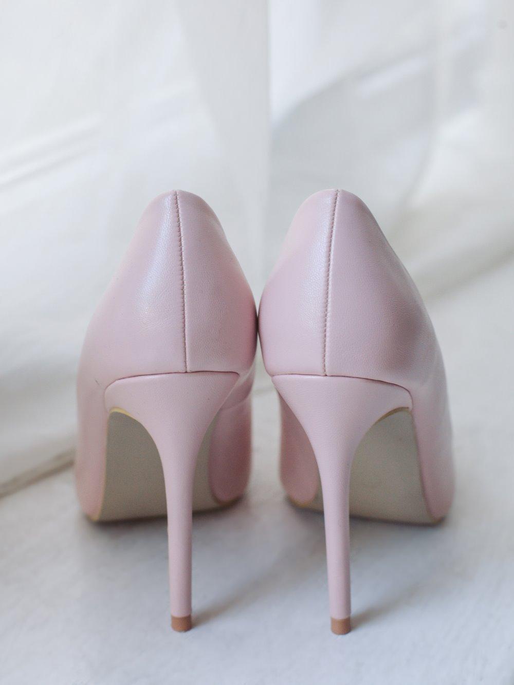 Туфли розовые 2