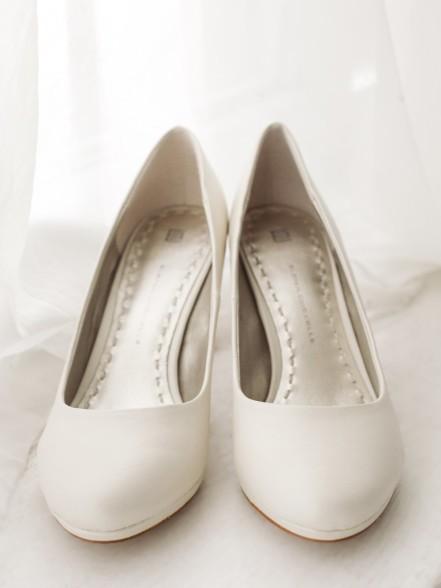 Туфли свадебные устойчивый каблук