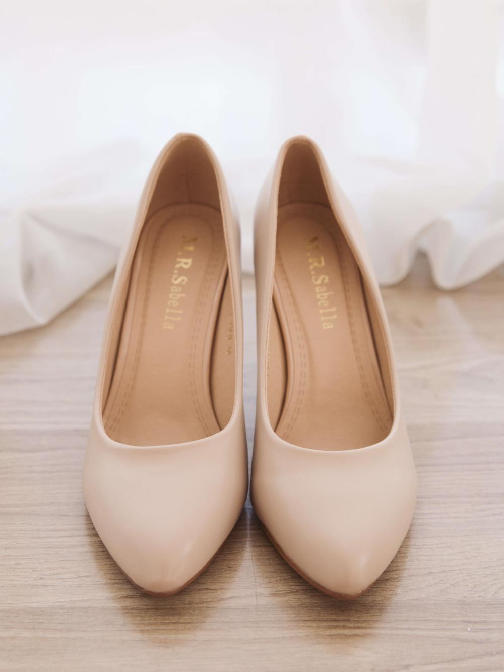 Туфли бежевые 1