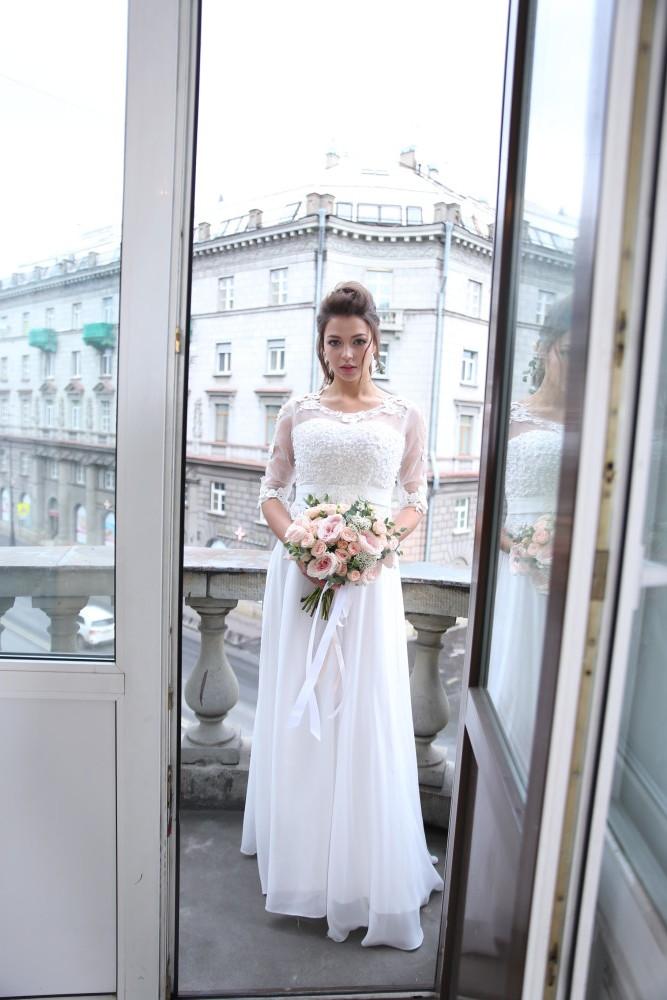 Свадебное платье Настурция 1