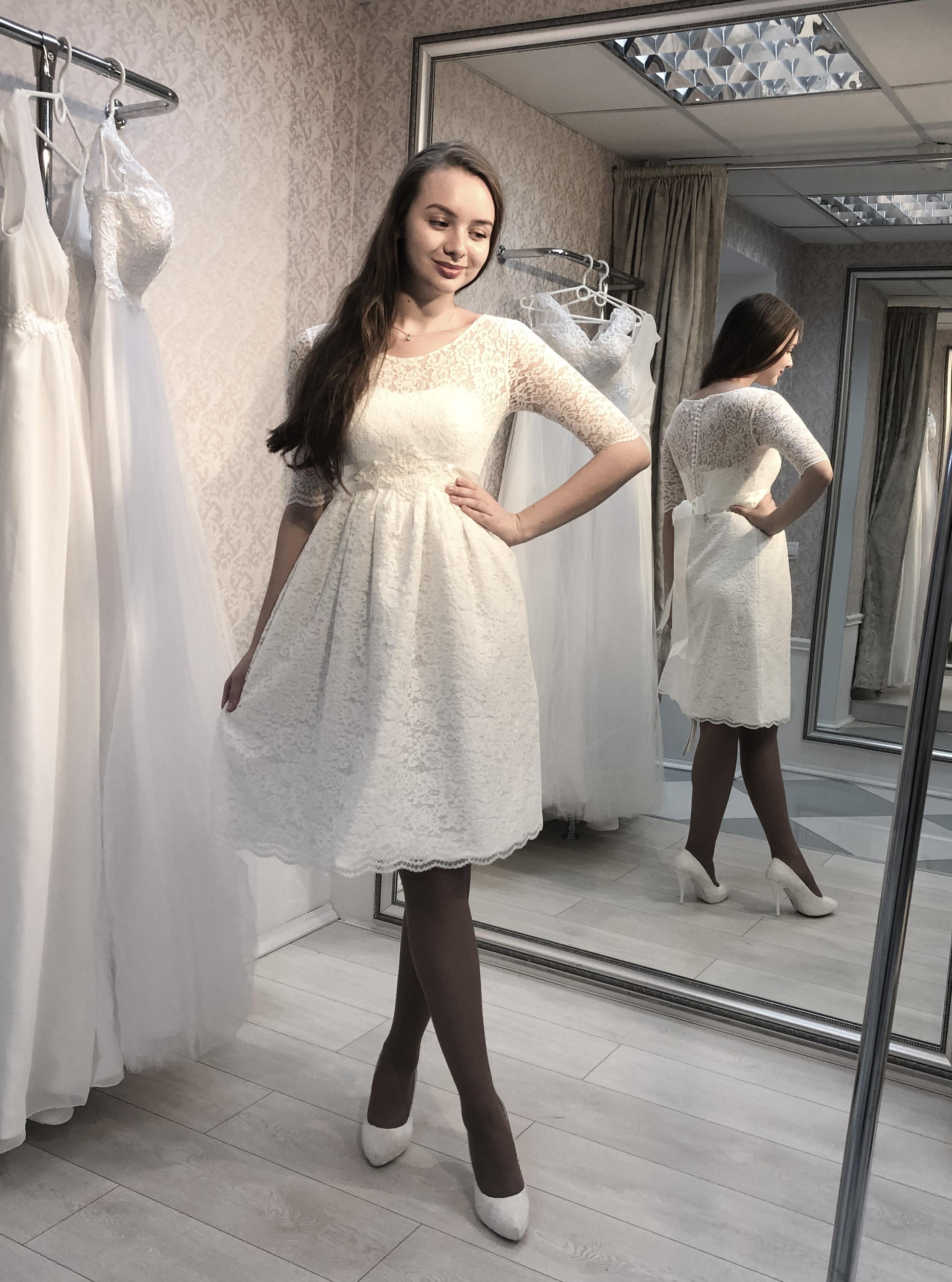Свадебное платье Виржини 1